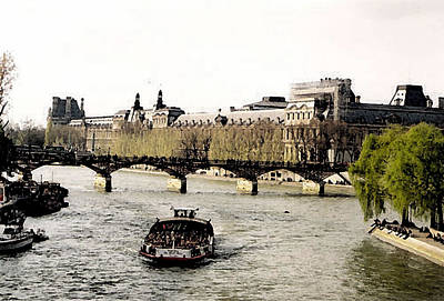 La Seine Art Print by John Bradburn