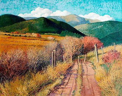 Painting - La Senda Desconocido by Donna Clair