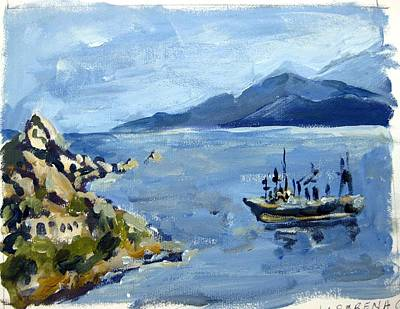 Painting - La Serena Chile I by Ingrid Dohm