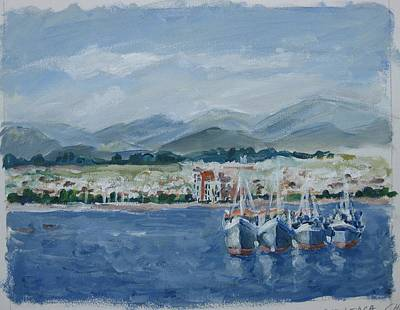 Painting - La Serena Chile II by Ingrid Dohm