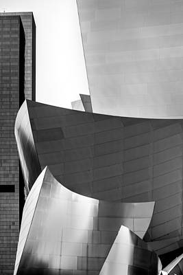 Los Angeles Photograph - La Shapes by Az Jackson