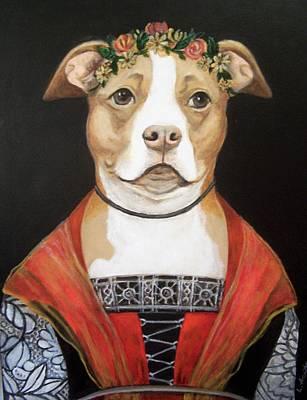 Painting - La Signorina by Laura Aceto