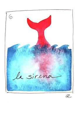 Painting - La Sirena by Anna Elkins