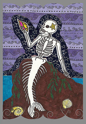 La Sirena Art Print by Laurie Silva