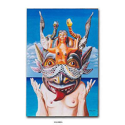 Painting - La Sirena by Michael Earney