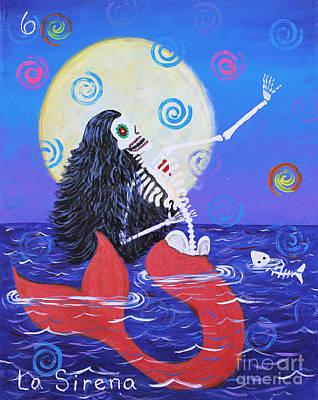 Painting - La Sirena by Sonia Flores Ruiz