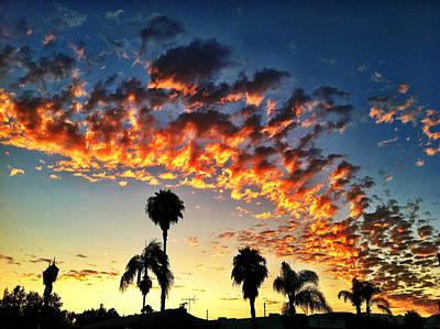 Photograph - L.a. Sunset by Braden Moran