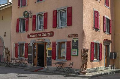Photograph - La Taverne Du Chateau by Michelle Meenawong