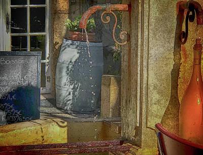 Photograph - La Terrasse by Jessica Levant