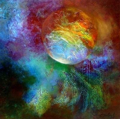 Painting - La Terre Des Promesses by Bielen Andre