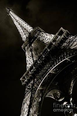 La Tour A Nuit Art Print by Louise Fahy