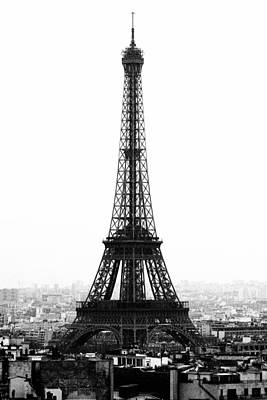 Paris Skyline Royalty-Free and Rights-Managed Images - La Tour Eiffel #1 by Sascha Richartz