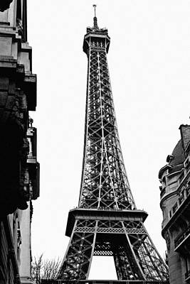 Paris Skyline Royalty-Free and Rights-Managed Images - La Tour Eiffel #2 by Sascha Richartz