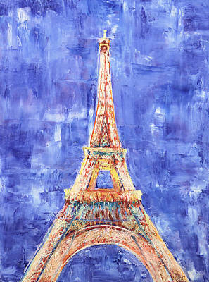 Painting - La Tour Eiffel by Elizabeth Lock
