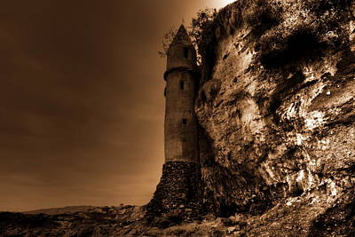 Photograph - La Tour In Sepia by Richard Omura