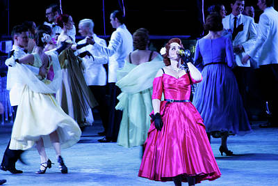 Photograph - La Traviata  - Party On Stage by Miroslava Jurcik