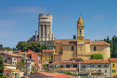 Southern France Photograph - La Turbie Lovely Village In Southern France by Melanie Viola