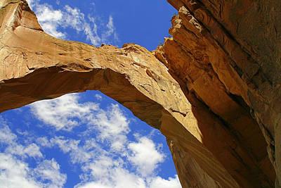Southwestern Art Photograph - La Ventana Natural Arch by Christine Till
