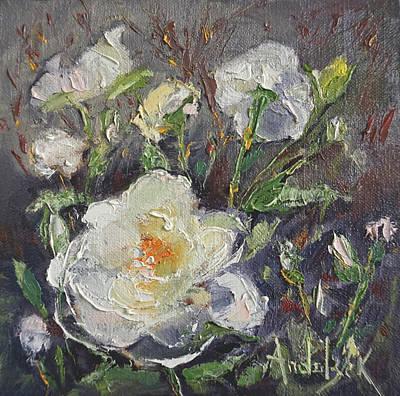 Painting - La Vie En Rose by Barbara Andolsek
