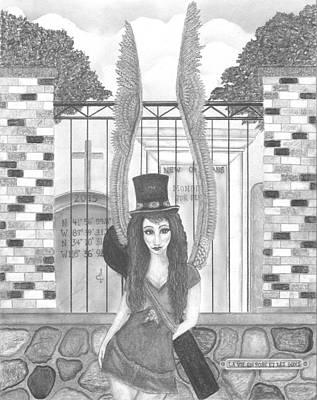 La Vie En Rose Et Les Guns Art Print by Wendy Wunstell