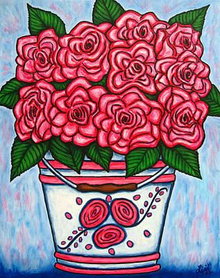 La Vie En Rose Art Print by Lisa  Lorenz