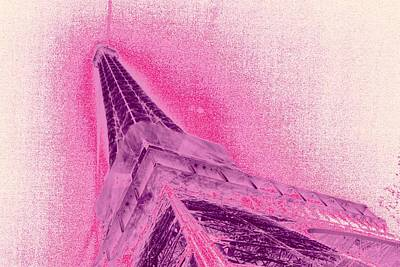 La Vie En Rose Print by Lucie