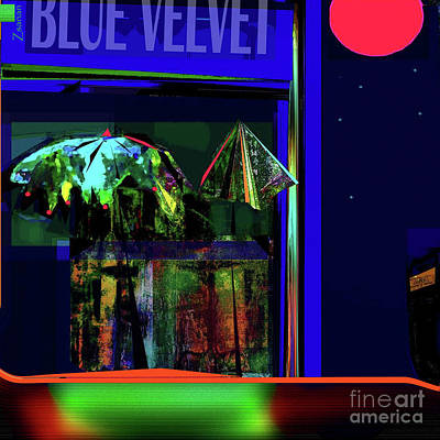 Digital Art - La Vie Nocturne No.3 by Zsanan Narrin