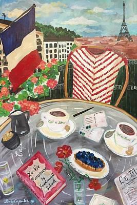Painting - La Vie Parisienne by Mindy Carpenter