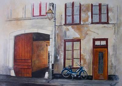 La Vieille Maison Art Print by Victoria Heryet