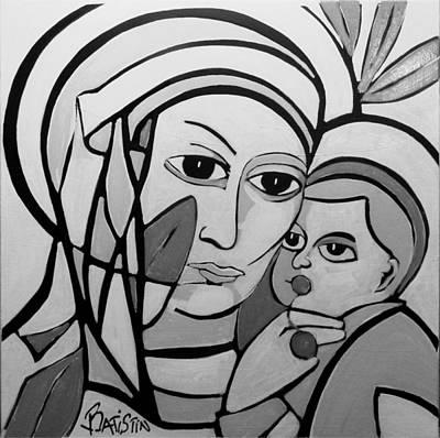La Vierge A La Cerise Original