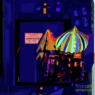 Digital Art - La Vie Nocturne No. 2 by Zsanan Narrin