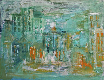Painting - La Ville by Phyllis Hanson Lester