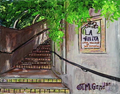 Painting - La Villita by TM Gand