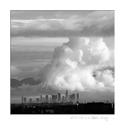 L.a. Wave Art Print by Kevin Bergen