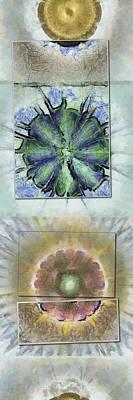 Lab Form Flower  Id 16165-110535-00141 Print by S Lurk
