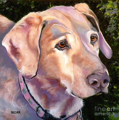 Painting - Lab One Of A Kind by Susan A Becker