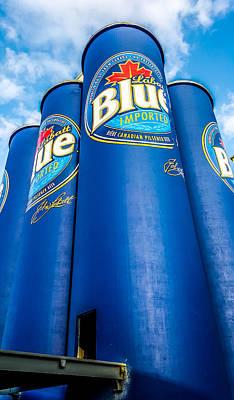 Labatt Blue Art Print