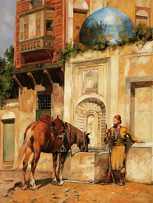 Painting Royalty Free Images - Labbeveratoio Royalty-Free Image by Guido Borelli