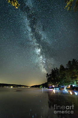 Photograph - Labor Day Milky Way In Vacationland by Patrick Fennell