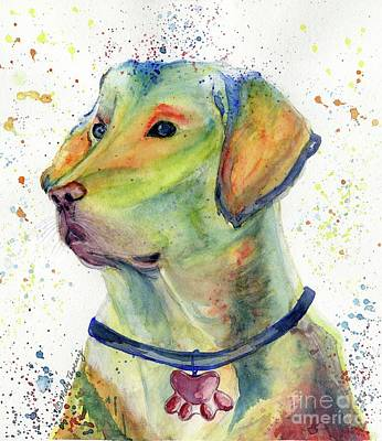 Painting - Labrador Retriever Art by Melly Terpening
