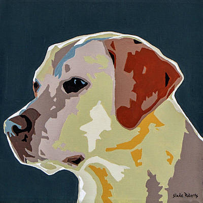 Labrador Print by Slade Roberts