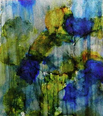 Painting - Labradorite Dreams Ink #9 by Sarajane Helm