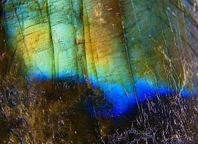 Labradorite Photograph - Labradorite Luminous One by Chris Pitzer
