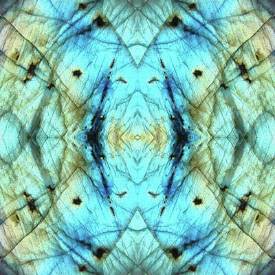 Labradorite Photograph - Labradorite Tile by Rich Beer