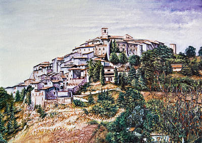 Labro Print by Michel Angelo Rossi