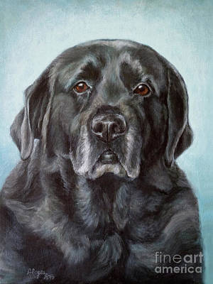 Painting - Labs Are The Most Sincere by Amy Reges