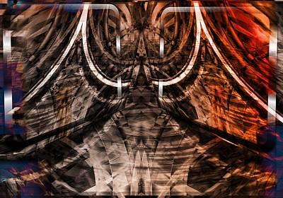 Digital Art - Labyrinth by Art Di