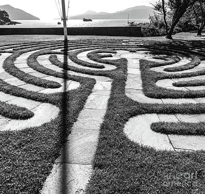 Photograph - Labyrinth  by William Wyckoff