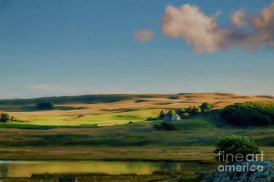 Landscapes Photograph - Lac De Born,lozere,france. by Robert Brown