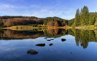 Photograph - Lac Genin, Jura, France by Elenarts - Elena Duvernay photo